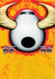 Plano de Bull ilustración del vector