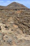 Plano de El Mojon, rock formations, Lanzarote. Plano de El Mojon, rock formations near Teguise, Lanzarote, Canary Islands, Spain Stock Photos