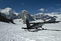 Plano de esquí en la montaña 3 Imagen de archivo libre de regalías