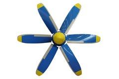 Plano de hélice imagens de stock