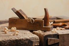 Plano de los carpinteros Imágenes de archivo libres de regalías