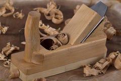 Plano de madeira Imagens de Stock Royalty Free
