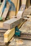 Plano de madeira Fotografia de Stock