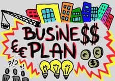 Plano de negócios Fotos de Stock Royalty Free