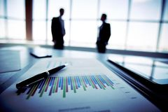 Plano de negócios Imagens de Stock
