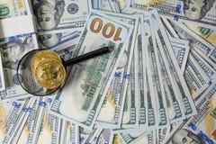 Plano de negócios em diagramas da renda financeira, do dólar e do negócio imagens de stock