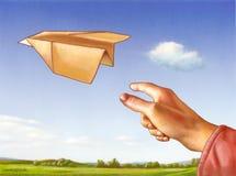 Plano de papel fotos de archivo libres de regalías