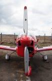 Plano de propulsor Foto de archivo libre de regalías