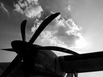 Plano de propulsor Foto de archivo