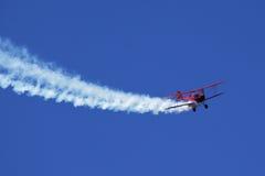 Plano de propulsor rojo Imagenes de archivo
