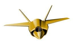 Plano del avión de combate Fotos de archivo