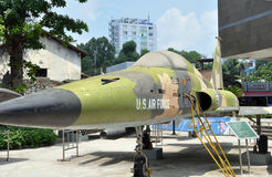 Plano del bombardero de los E.E.U.U., Ho Chi Minh City, Vietnam foto de archivo libre de regalías