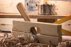 Plano del carpintero imagen de archivo libre de regalías