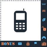 Plano del icono de Smartphone libre illustration