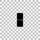 Plano del icono del refrigerador libre illustration