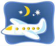 Plano del vuelo Imágenes de archivo libres de regalías