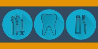 Plano dental Fotos de archivo
