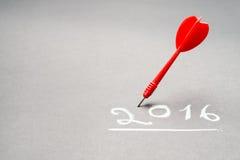 Plano do ano Imagem de Stock