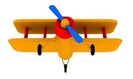 Plano do brinquedo ilustração stock