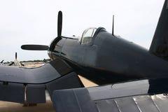 Plano do Corsair WWII fotografia de stock royalty free