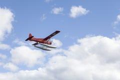 Plano do flutuador de Yukon fotografia de stock