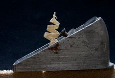 Plano dos carpinteiros Fotos de Stock