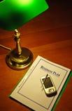 Plano empresarial #01 de PDA Fotografia de Stock