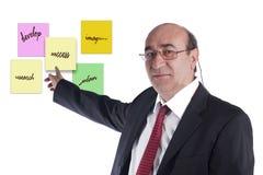 Plano empresarial Imagens de Stock Royalty Free