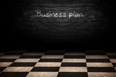 Plano empresarial Fotos de Stock