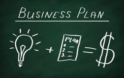 Plano empresarial Fotos de Stock Royalty Free