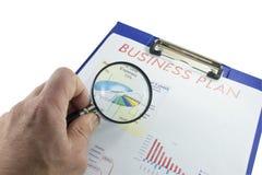 Plano empresarial Fotografia de Stock