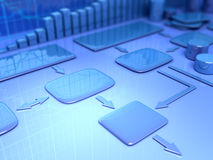 Plano empresarial Imagem de Stock