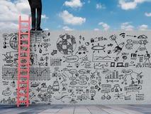 Plano empresarial Imagem de Stock Royalty Free