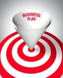 Plano empresarial de vencimento Fotografia de Stock Royalty Free