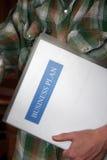 Plano empresarial - empresa de pequeno porte Imagem de Stock Royalty Free