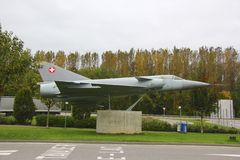 Plano militar suíço Fotos de Stock Royalty Free