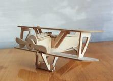 Plano modelo de madera Fotografía de archivo