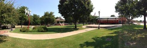 Plano Texas parkerar Royaltyfri Fotografi