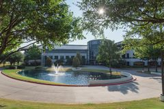 Corporate headquarters campus of Keurig Dr Pepper in Plano, Texa. PLANO, TX, USA-JULY 7, 2018: Corporate headquarters campus of Keurig Dr Pepper. American soft stock images
