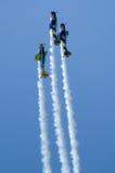 Planos acrobáticos Imagen de archivo