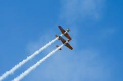 Planos acrobáticos Fotografía de archivo