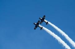 Planos acrobáticos Fotos de archivo libres de regalías