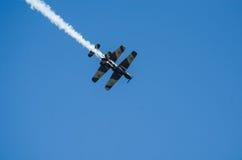 Planos acrobáticos Foto de archivo libre de regalías