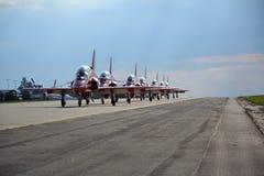 Planos Aerobatic Fotografia de Stock