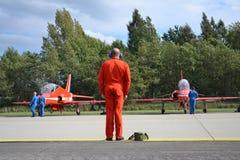 Planos Aerobatic do RAF Fotografia de Stock