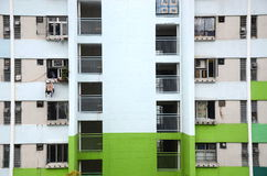 Planos aglomerados em Hong Kong Imagens de Stock Royalty Free