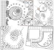 Planos da paisagem do od das coleções Imagens de Stock