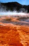 Planos de fango prismáticos magníficos del resorte caliente Fotos de archivo libres de regalías