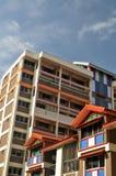 Planos de HDB em Singapore Imagens de Stock Royalty Free