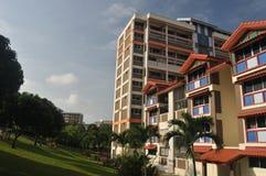 Planos de HDB en Singapur Imagenes de archivo